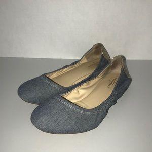 Cole Haan Women's Manhattan Blue Ballet Flats 7.5